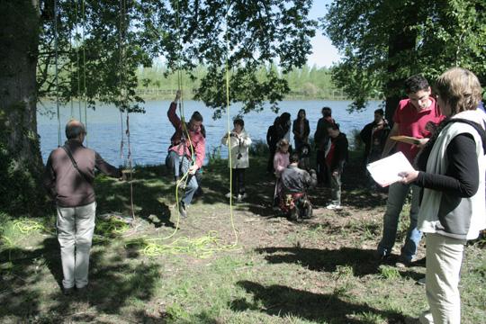 rallye découverte à l'étang de la Rigaudière